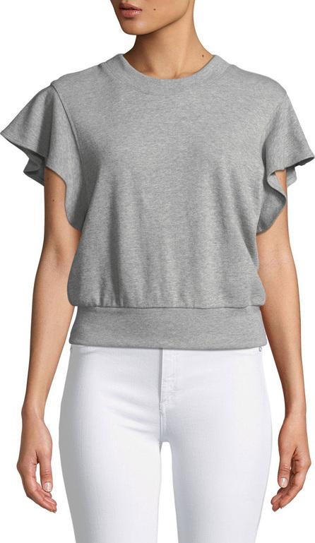 A.L.C. Remick Flutter-Sleeve Sweatshirt