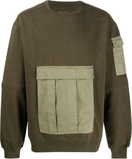 Maharishi Tech Cargo organic cotton sweatshirt