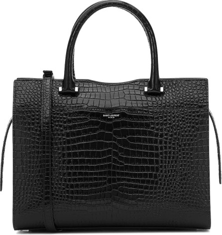 Saint Laurent Uptown Medium leather tote