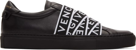 Givenchy Black 4G Webbing Urban Street Sneakers