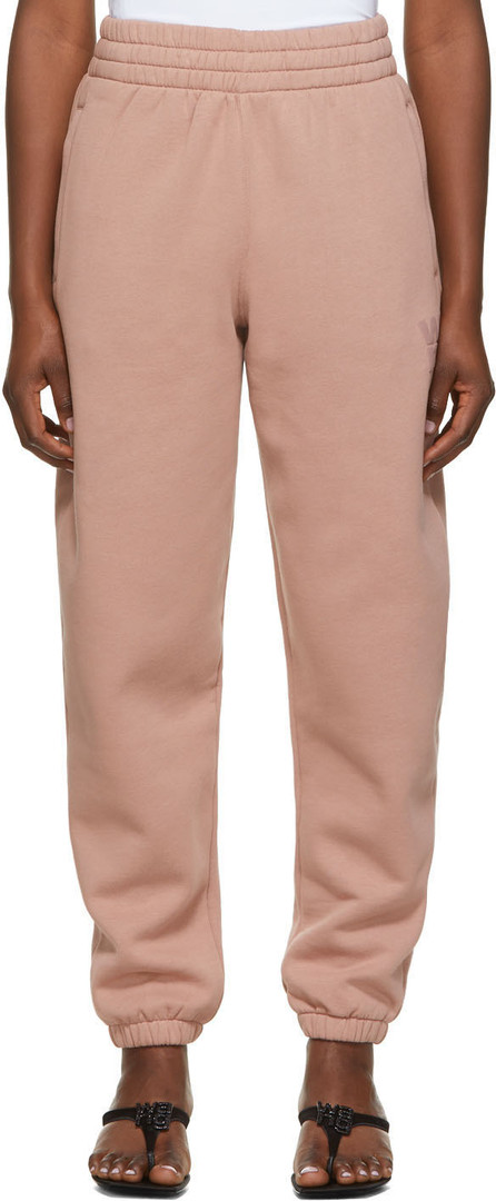 Alexanderwang.T Pink Foundation Terry Lounge Pants