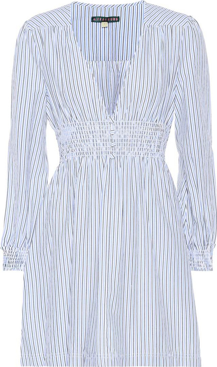 Alexachung Striped cotton minidress