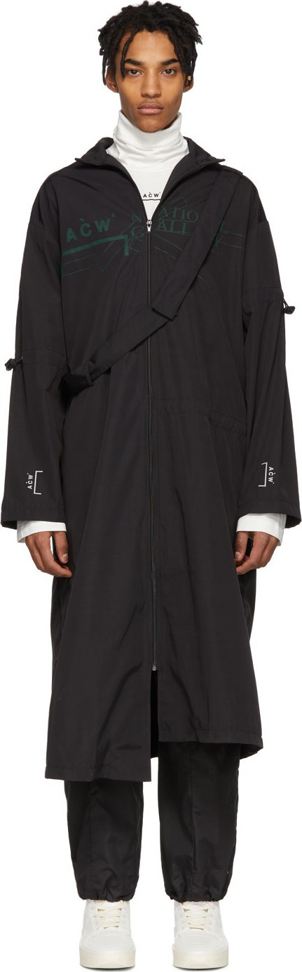 A-Cold-Wall* Black 'National Gallery' Coat