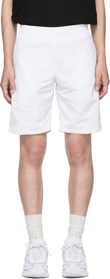 all in White Tennis Shorts