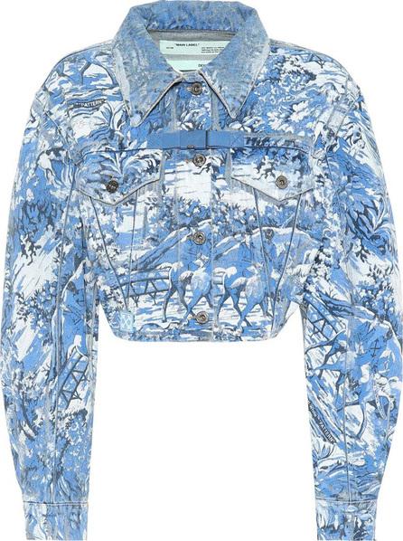 Off White Cropped denim jacket