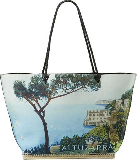 Altuzarra Espadrille Large Scenic Print Shoulder Tote Bag