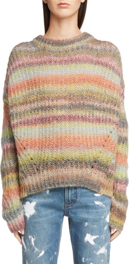 Acne Studios Knit Boxy Stripe Sweater