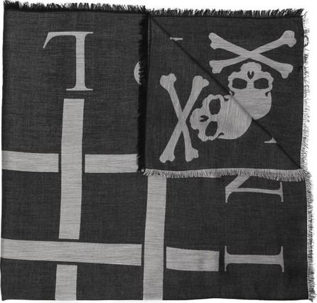 Philipp Plein Skull All In scarf