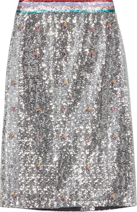 Mary Katrantzou Sigma Sequin Skirt