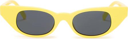 Le Specs The Breaker cat-eye acetate sunglasses