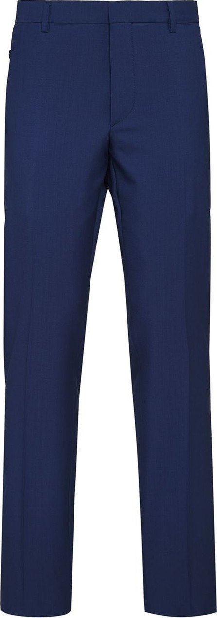 Prada Cropped fabric trousers