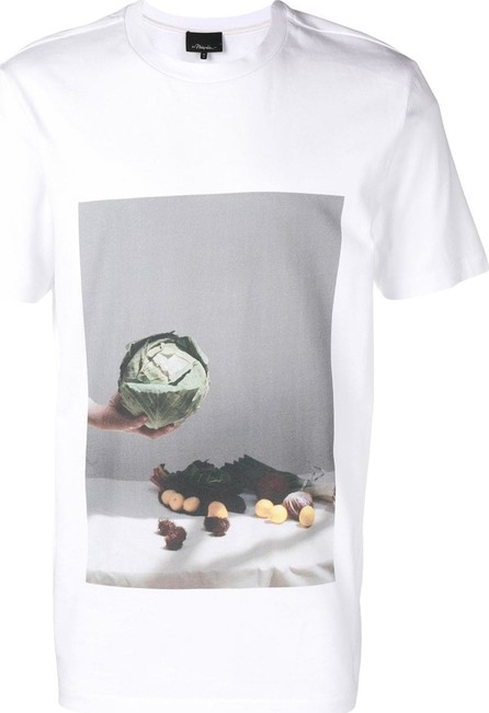 3.1 Phillip Lim Vegetable motif T-shirt