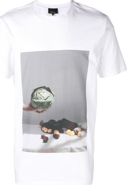 3.1 Phillip Lim Vegetable motif T-shirt
