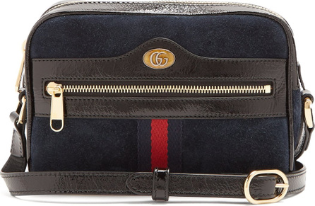 Gucci Ophidia mini suede cross-body bag