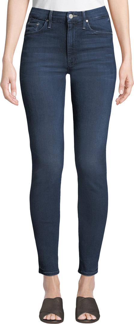 MOTHER Looker High-Waist Skinny Jeans