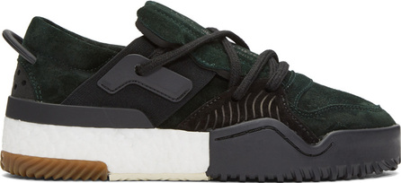 Adidas Originals by Alexander Wang Green AW Bball Lo Boost Sneakers