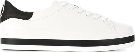 Alice + Olivia Two-tone lace up sneakers