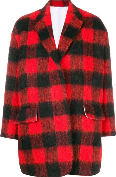 Calvin Klein 205W39NYC Oversized plaid jacket