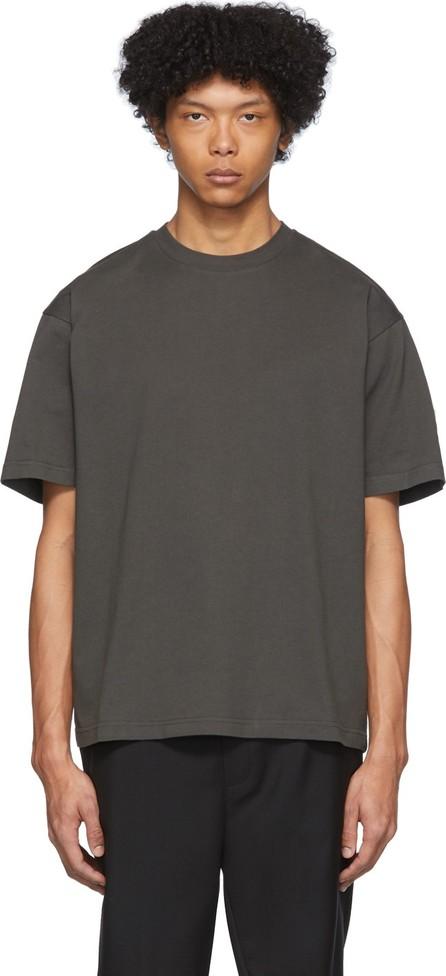 Moncler Genius 2 Moncler 1952 Grey Logo Patch T-Shirt