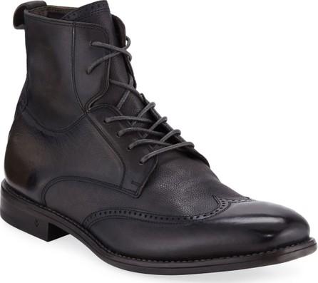 John Varvatos Men's Irving Paneled Wing-tip Boots