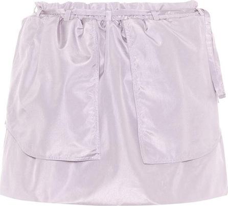 Valentino Silk tie-waist skirt