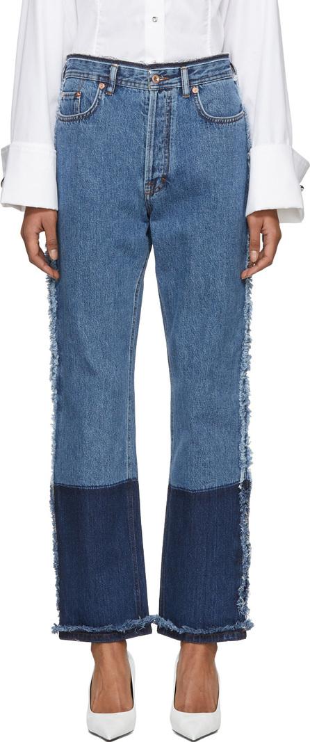 Acne Studios Indigo Myrja Fit Jeans