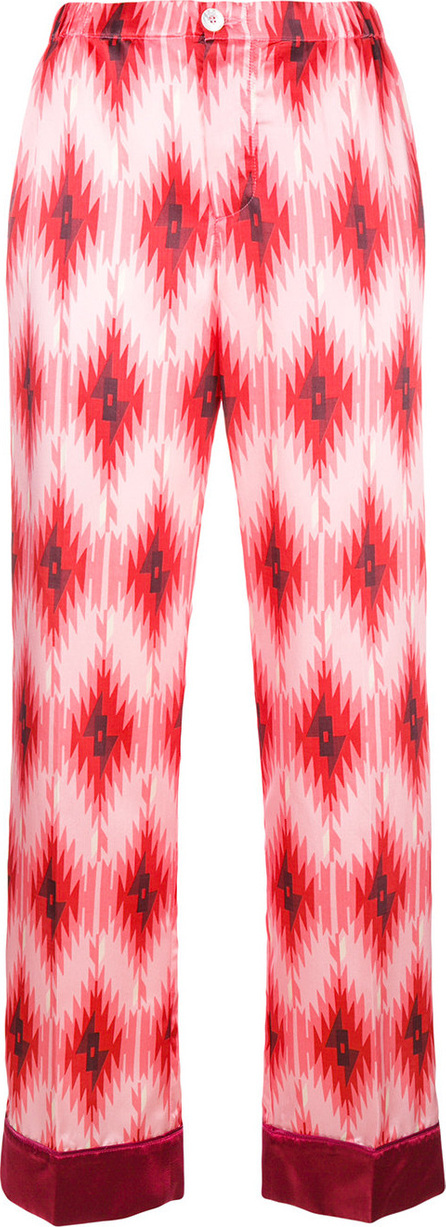 F.R.S For Restless Sleepers Geometric print trousers