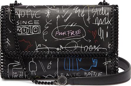 Stella McCartney 'Falabella' graffiti print faux leather crossbody bag