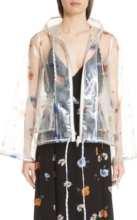 Ganni Petunia Rain Jacket