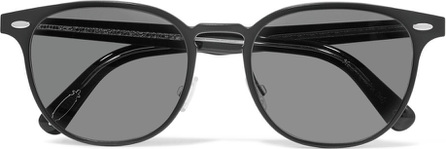 Oliver Peoples Sheldrake D-frame metal sunglasses
