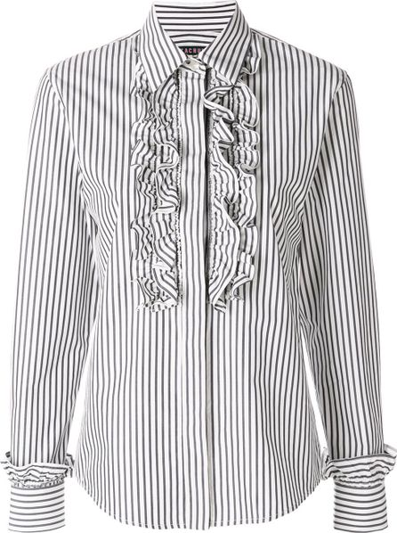 Alexa Chung turtleneck blouse
