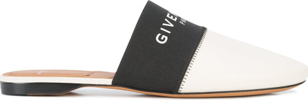 Givenchy Pointed toe logo mules