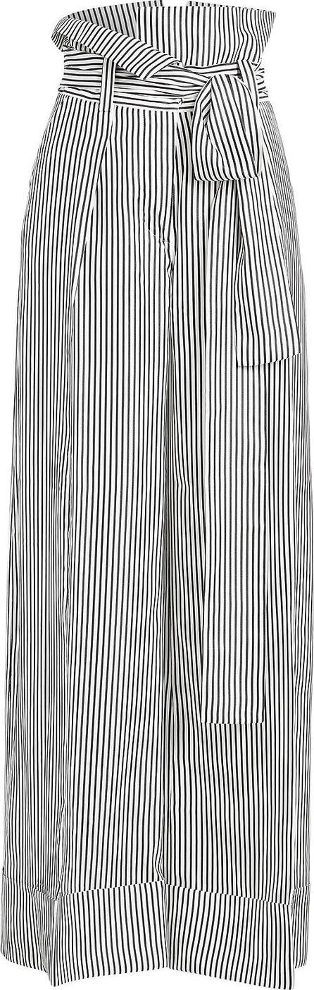 Petar Petrov Haven Wide Leg Silk Pants