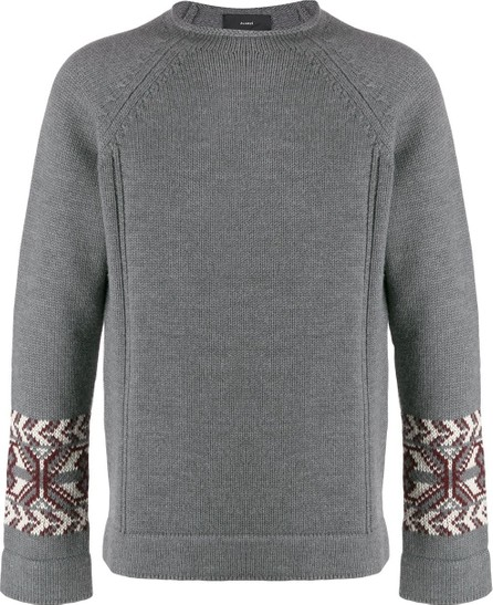 Alanui Fair isle detail jumper