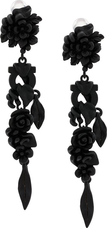Salvatore Ferragamo Enamelled flower earrings