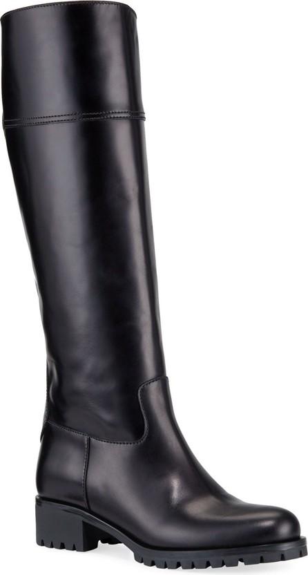 Prada Leather Riding 40mm Boots