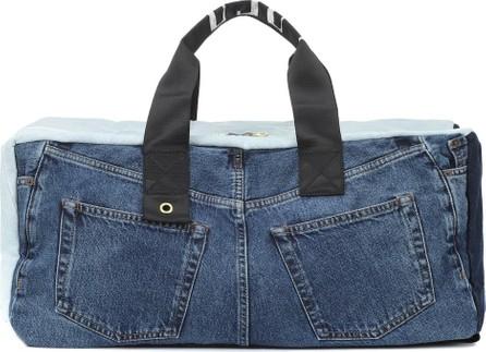 Acne Studios Blå Konst denim backpack