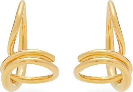Charlotte Chesnais Round Trip gold-vermeil earrings