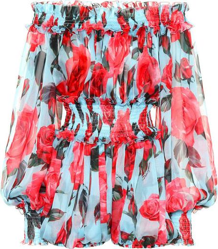 Dolce & Gabbana Silk chiffon jumpsuit