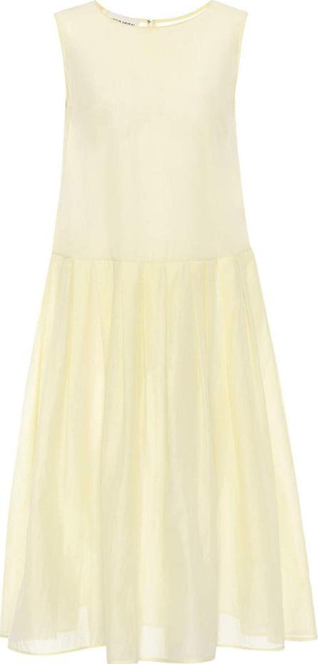 Mansur Gavriel Sleeveless cotton and silk dress