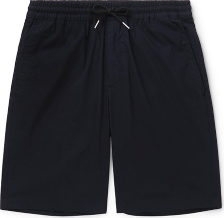 Sandro Tech-Cotton Drawstring Shorts