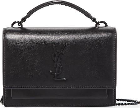 ece0be9ea06 Saint Laurent Kate Monogram YSL Tassel Croco Wallet on Chain Bag ...
