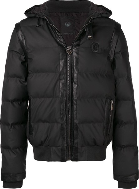 Frankie Morello Panelled padded jacket