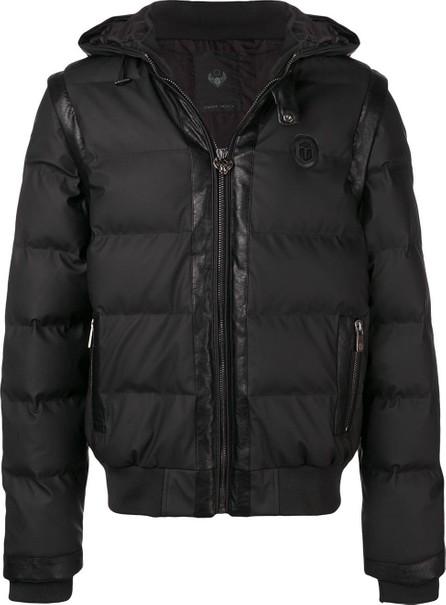 Frankie Morello Panelled padded jacket