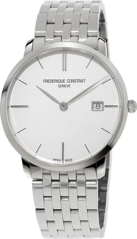 Frederique Constant Men's 38.4mm Classics Slimline Midsize Stainless Steel Watch