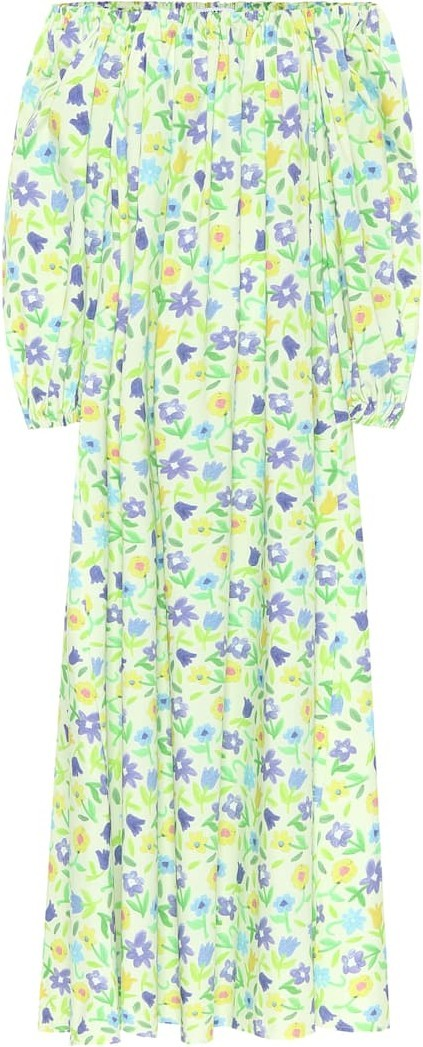 BERNADETTE Bobby floral cotton maxi dress