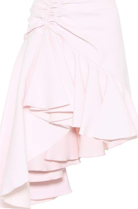 Giambattista Valli Ruffled crêpe miniskirt