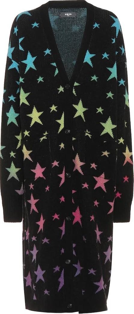 Amiri Printed cashmere-blend cardigan