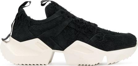 Ben Taverniti Unravel Project Contrast low-top sneakers