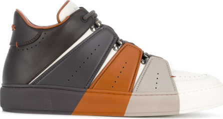 Ermenegildo Zegna Couture Tommaso colour block sneakers